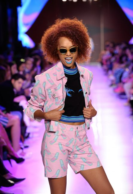Toronto Fashion Week Day Three Hayley Elsaesser Runway Show Toronto Fashion Week