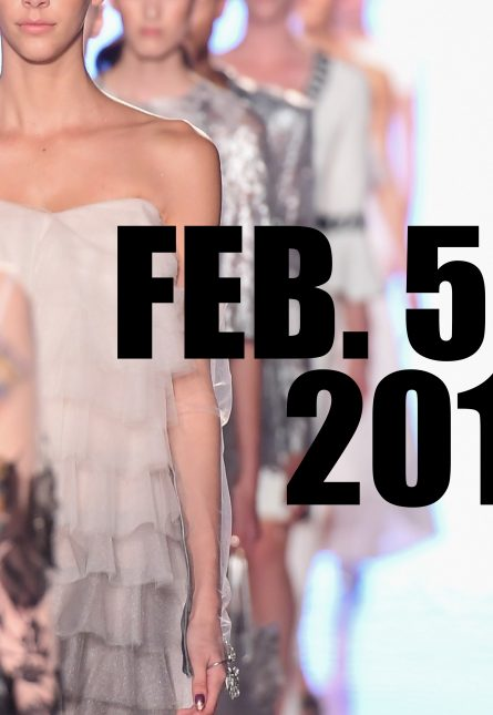 Fashion Week Schedule Feb